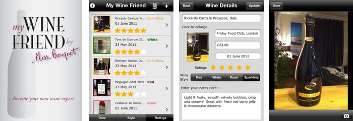 My Wine Friend Screen Shots