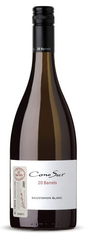 20 barrels sauvignon blanc 2009