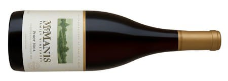 McManis Pinot Noir Bottle Shot